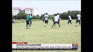 AFCON 2019 Qualifiers - The Pulse Sports on JoyNews (8-10-18)