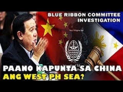 BLUE RIBBON COMMITTEE HEARING KUNG BAKIT NAPUNTA SA CHINA ANG SCARBOROUGH SHOAL