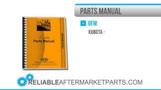 2935 нова компанія Kubota V1902 ББС 1 частини двигуна керівництво