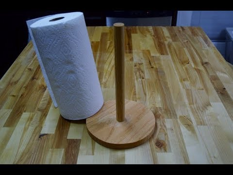 How to Make a Paper Towel Holder (woodlogger.com)