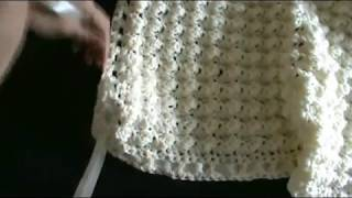 Woven Ribbon Trim for Crochet or Knitting Projects #3