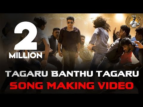 Mix - Tagaru - Tagaru Banthu Tagaru (Song Making Video) | Shiva Rajkumar, Dhananjay, Manvitha | Charanraj