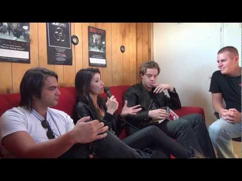 Sick Puppies Interview at River Riot 2011 - Backstage Entertainment