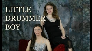 """""""The Little Drummer Boy"""" (Official Music Video) ~ Anastasia Lee & Tatiana Marie"""