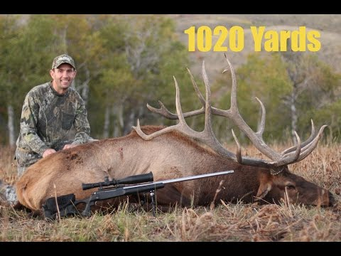 """1020 Yard Bull Elk Shot - 400"""" Monster Typical Bull"""