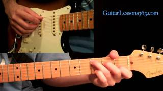The Greatest Hybrid Picking Guitar Lesson Ever Pt.1 - Rock - Blues - Country - Jazz - Fender Strat