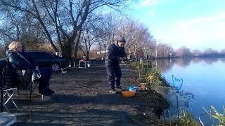 Рыбалка на Днестре в январе 2021