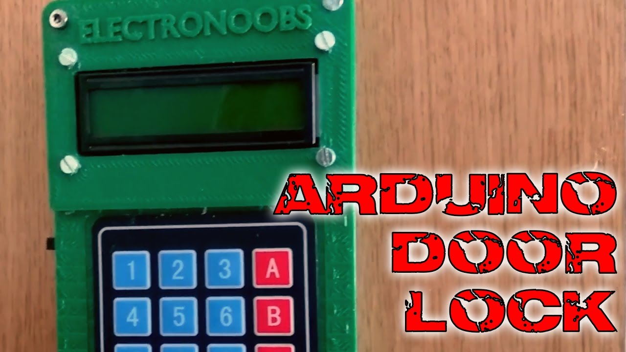 Door Lock Keypad And Bluetooth Arduino Tutorial Youtube