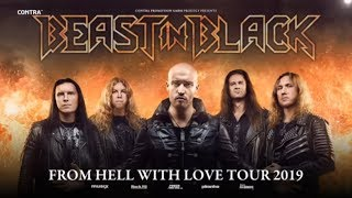 BEAST IN BLACK -  'From Hell With Love' Headline Tour 2019 (OFFICIAL UPDATED TOUR TRAILER)