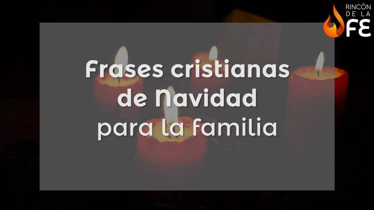 Frases cristianas de navidad para la familia mensajes - Frases cristianas para felicitar la navidad ...