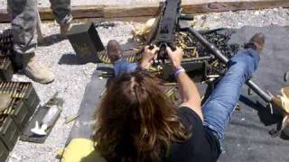 50 Caliber Gunplay with the 99th Mission Support Group in Las Vegas