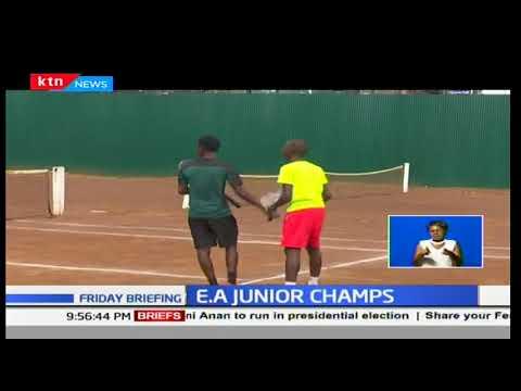 Kenyans shine at the Eastern Africa Junior Tennis Championships in Nairobi