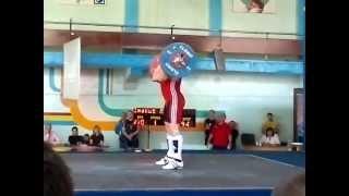 Иванов Артем Тяжелая атлетика 2012