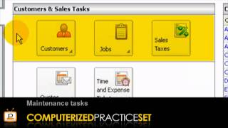 Peachtree accounting tutorial: Getting Started