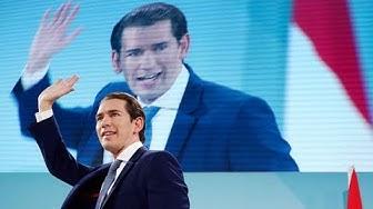 KURZ MACHT ALLE KLEIN: Historischer Wahlsieg für ÖVP in Österreich