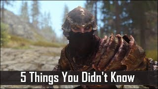 Skyrim 5 Things You Probably Didn t Know You Could Do - The Elder Scrolls 5 Secrets Part 5