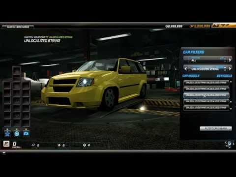 NFS World - All special cars (almost), traffic and cop cars