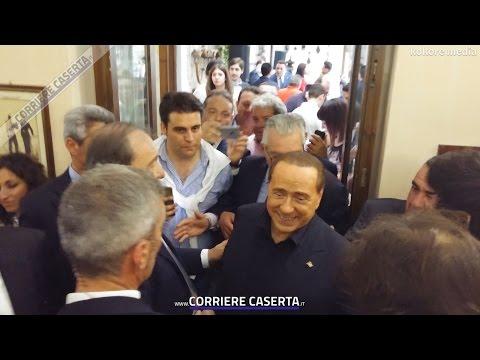 Silvio Berlusconi e Francesca Pascale a Caserta