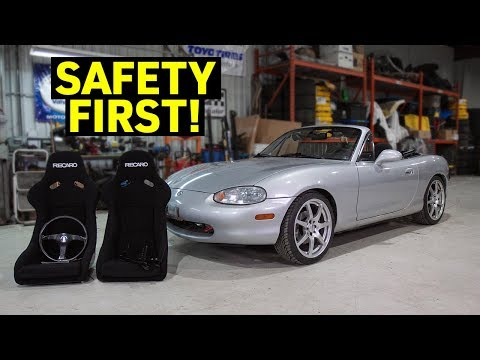 Fitting Bucket Seats Into The BUDGET Miata