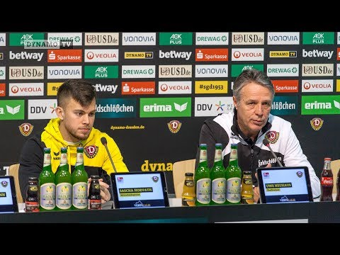 25. Spieltag | SGD - D98 | Pressekonferenz vor dem Spiel