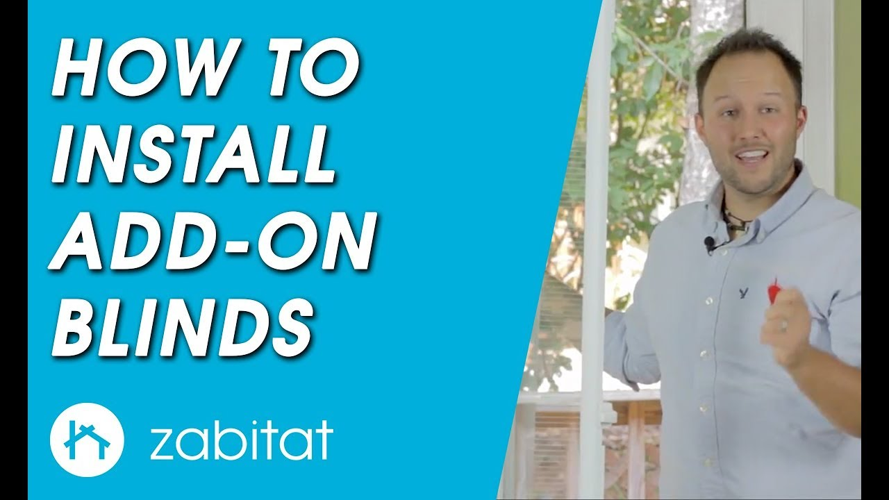 How To Install Odl Add On Blinds For