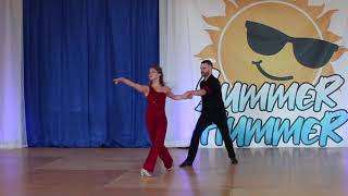 Rob Glover & Alyssa Gillespie - Summer Hummer 2019 - Showcase - 3rd Place