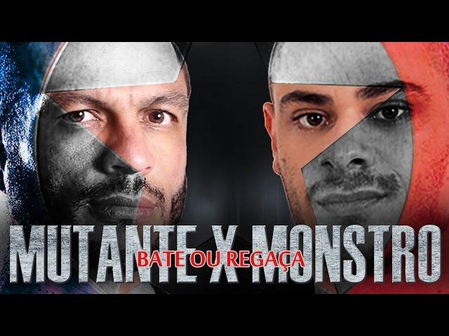 MUTANTE vs MONSTRO, QUAL O SEU LADO? [BATE OU REGA�A]