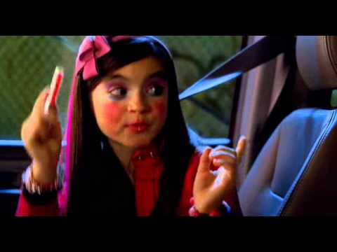 Little girl raps to Hoochie Mama HQ