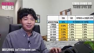 [12.8 종부세법] 2019년 부동산투자 방향, 투자방향 분석 및 설정.  서울집값은? 종합분석정리파일 전달, 핵심3가지. 다주택자 세율, 종부세 개정안