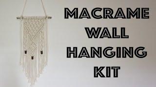 Macrame Wall Hanging Kit