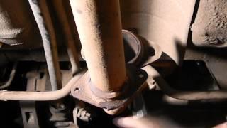 Замена уплотнительного кольца глушителя ВАЗ 2110-2112