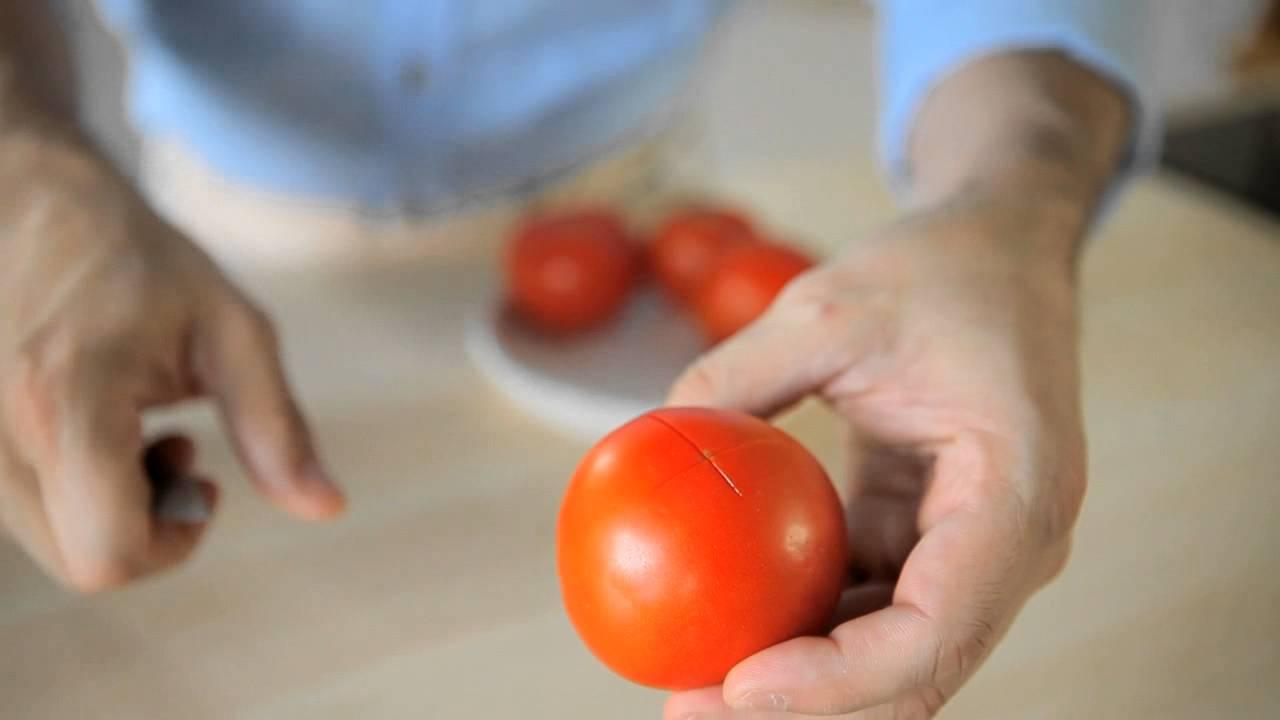 Come Pelare i Pomodori: 7 Passaggi (con Immagini)