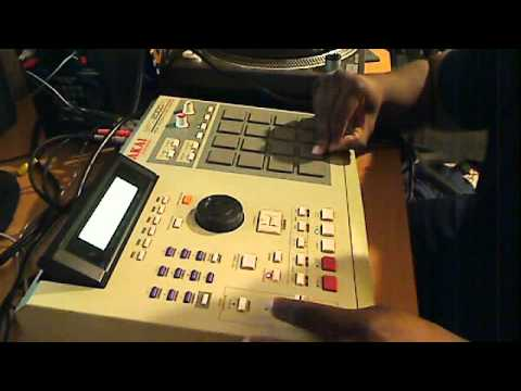 Scratching A Sample With The MPC2000XL (Chasin' Dreams Beat) - YouTube