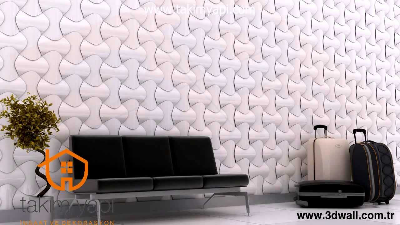 Feature Wall Wallpaper 3d 3d Wall 3 Boyutlu Duvar Tasarimlari Youtube