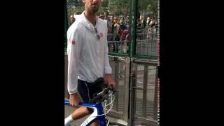 Crazy Moment : Novak Djokovic checked by the safety in Monte Carlo 2017