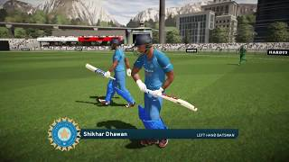 Don Bradman Cricket 17 // India vs Pakistan // Champions League Live