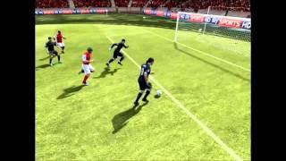 FIFA 12 - Romance entre Andy carol e Fabianski ( Beijo na boca ) [Fabianski andy carrol kissing]