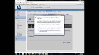Configuracion de VLAN en Switch HP
