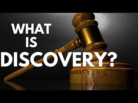 What is Discovery? Personal Injury Attorney Defines Legal Terms