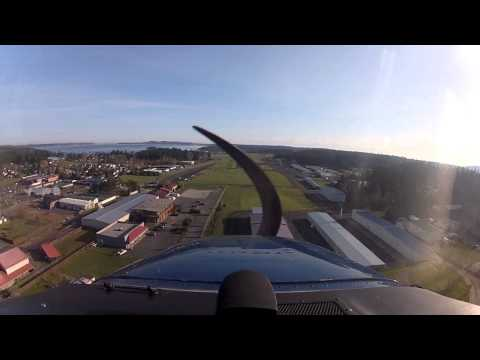 Friday Harbor Approach and Landing 3-29-2013