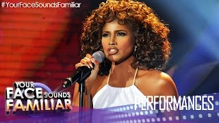 "Your Face Sounds Familiar: Denise Laurel as Toni Braxton - ""Unbreak My Heart"""