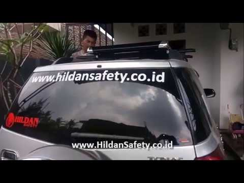 Tutorial Cara Memasang ROOF RACK Mobil Terios Rush, How to ...