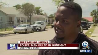 Police: Man killed in gunfire