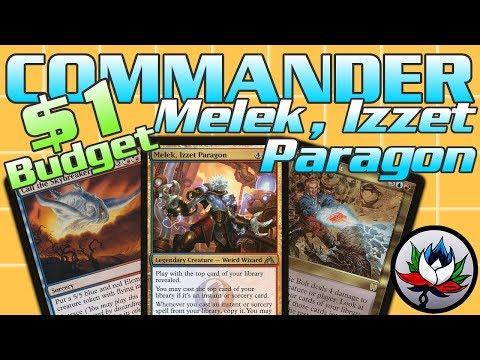 MTG - $1 BUDGET Melek, Izzet Paragon EDH/Commander Deck Tech for Magic: The Gathering!