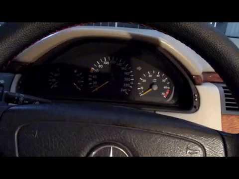 Не заводится двигатель при этом включается на полную вентилятор Мерседес W210