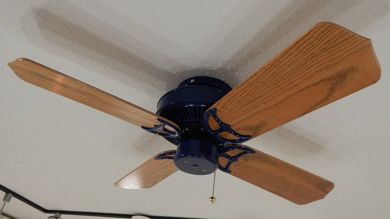 Buffalo fan company navy blue ceiling fan youtube buffalo fan company navy blue ceiling fan aloadofball Images