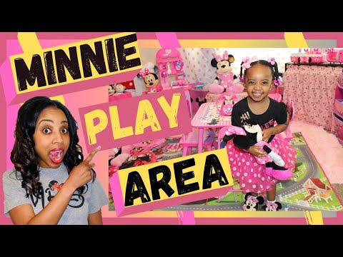 HOW TO CREATE AND SET UP THE IDEAL MINNIE MOUSE PLAY AREA? Minnie Mouse Flipping Kitchen Review