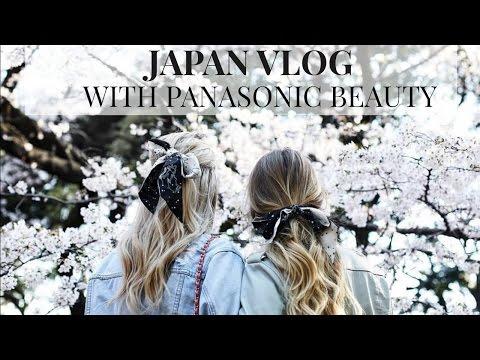 JAPAN VLOG   PANASONIC BEAUTY   IAM CHOUQUETTE