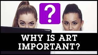 why is art important What is art art is a form of creative human expression, a way of enriching the human experience featuring the definition of art and why is art important.