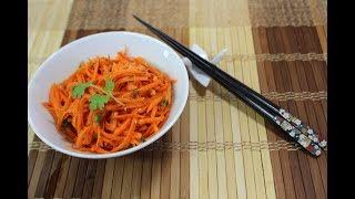 Spicy Korean Carrot Salad/Morkovcha